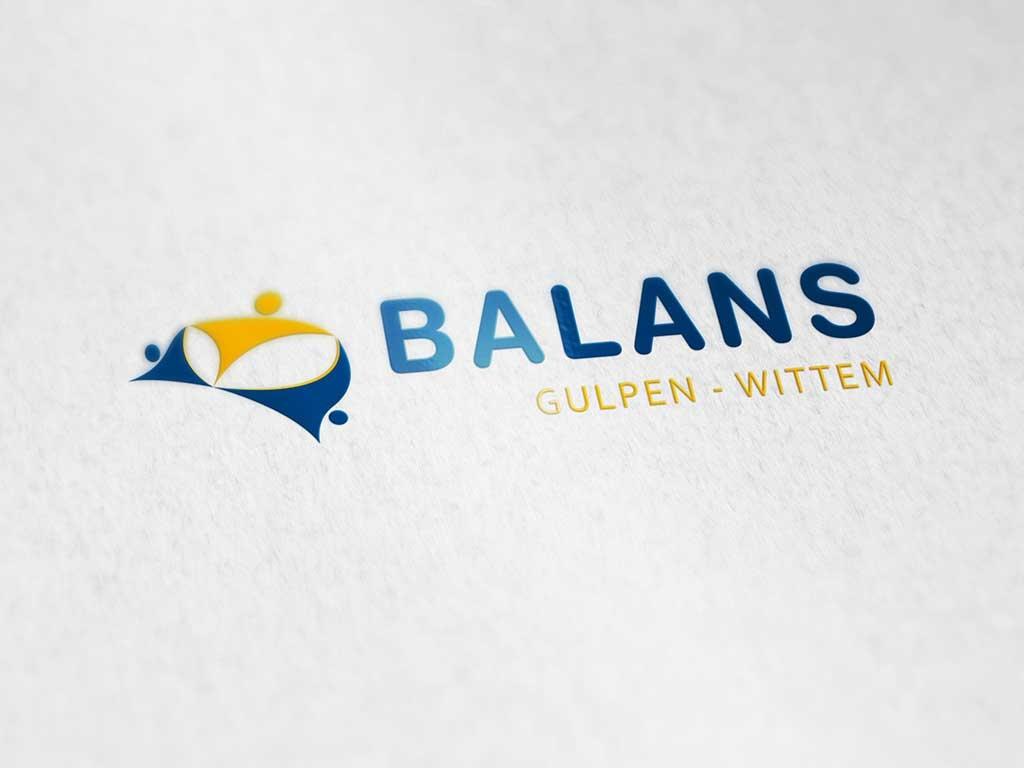 Logo ontwerp van Balans Gulpen - Wittem