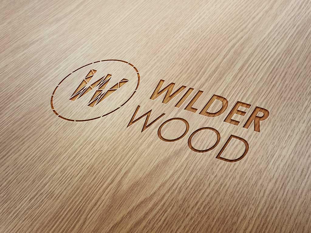 Wilder Wood logo ontwerp