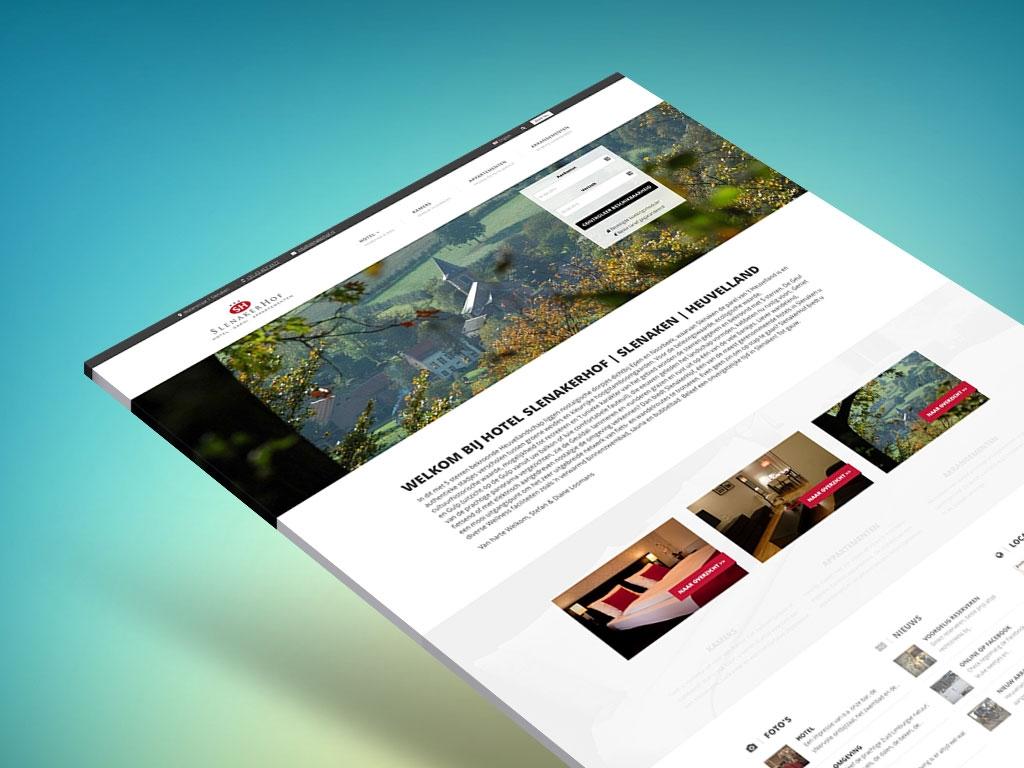 Pro website 'Slenakerhof' Slenaken – ALL IN ONE Reclame ...